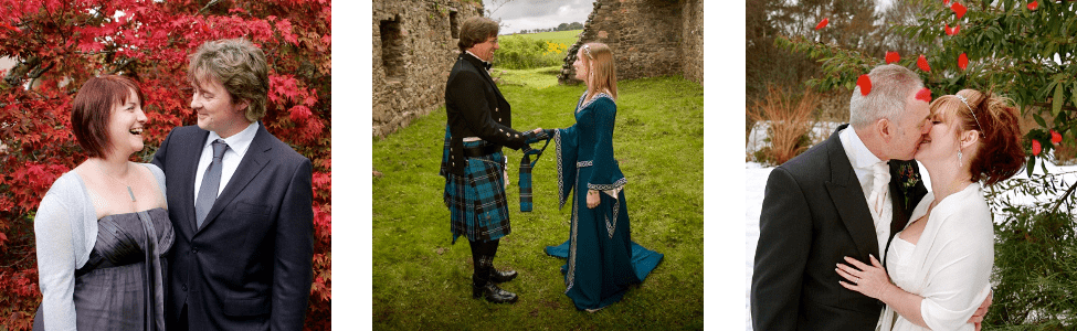 Getting married in Scotland header photos