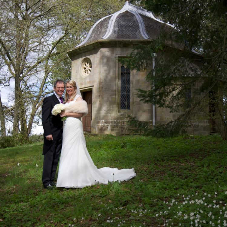 Belladrum Temple Wedding