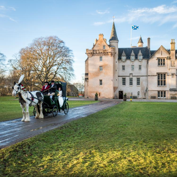 Brodie Castle Wedding