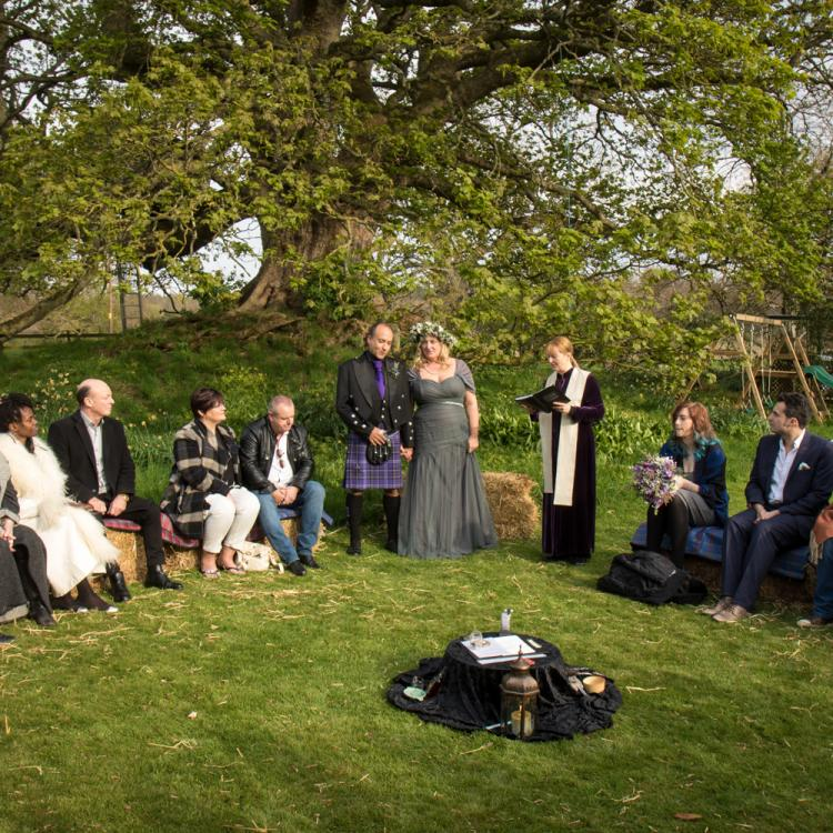 Geddes House Wedding
