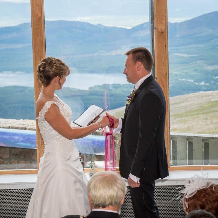 Scottish Cairngorm Mountain Wedding