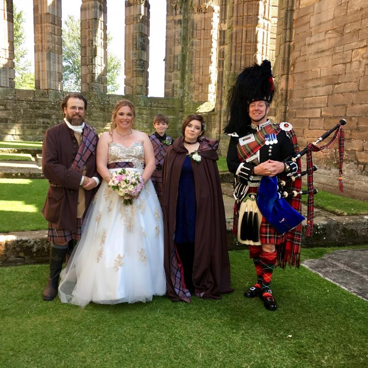 Scottish Bagpipes for your Wedding