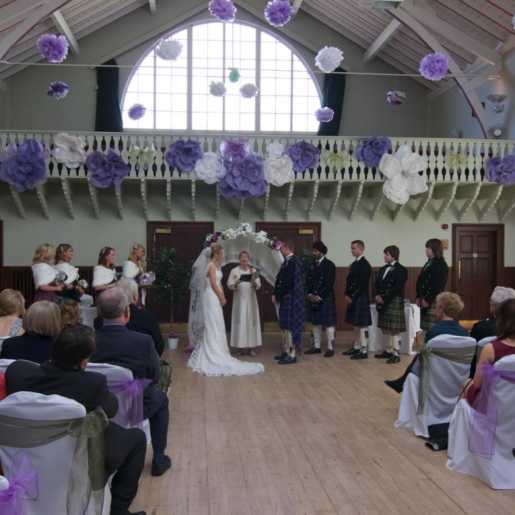 Strathpeffer Pavilion Wedding